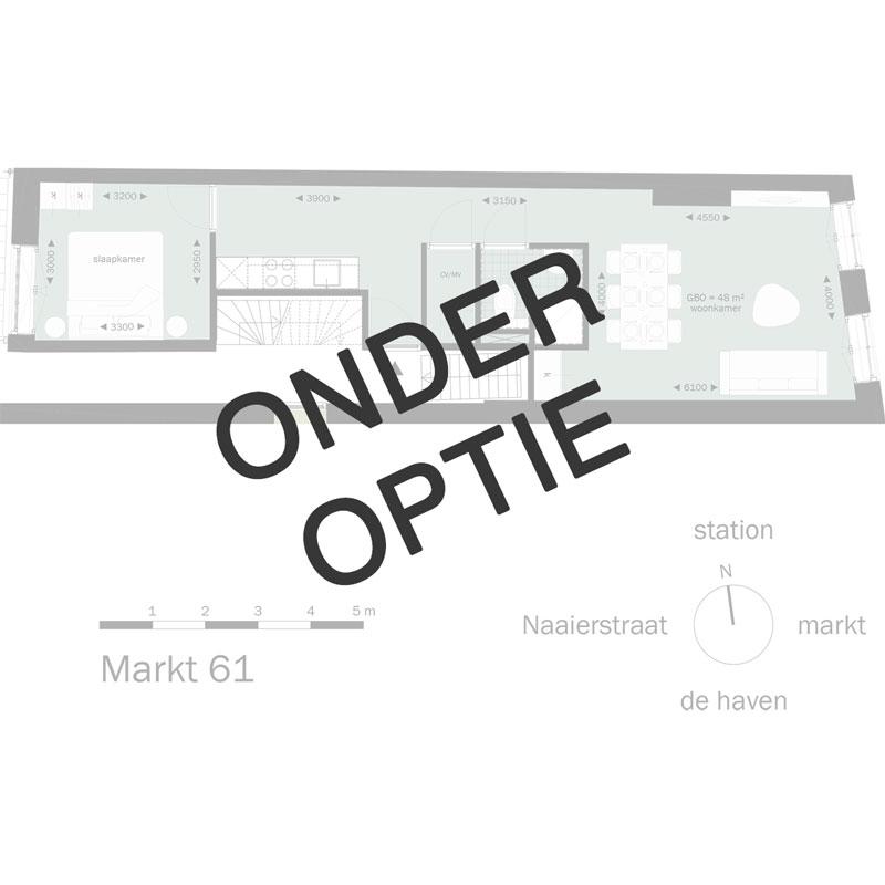 Markt61 in optie